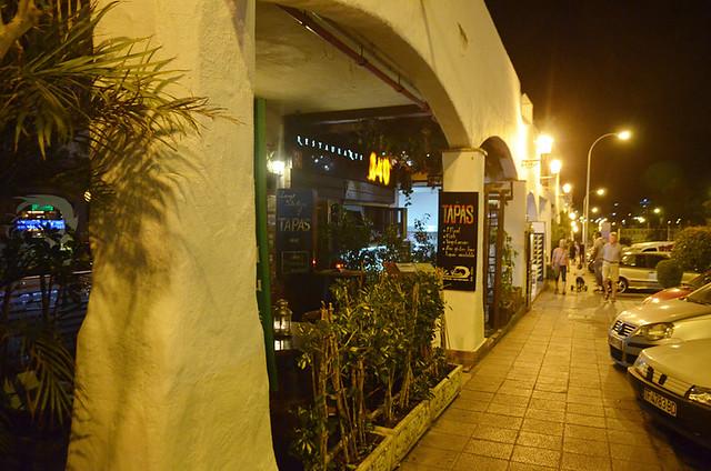 Tapas bar, Los Cristianos, Tenerife