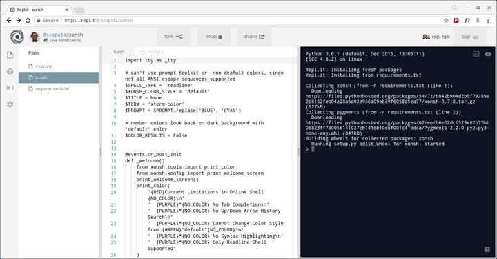 Xonsh-Linux-Shell-Prompt
