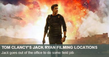 Where is jack ryan filmed
