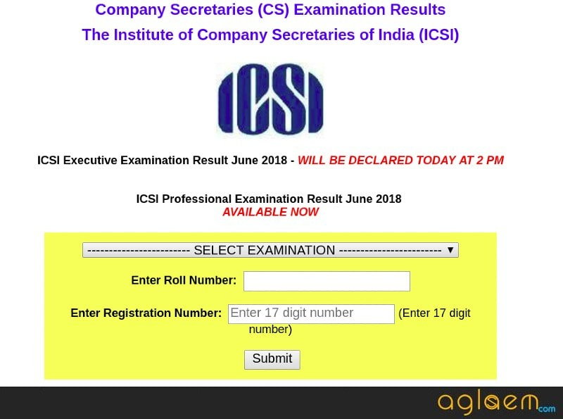 CS Professional June Result 2018