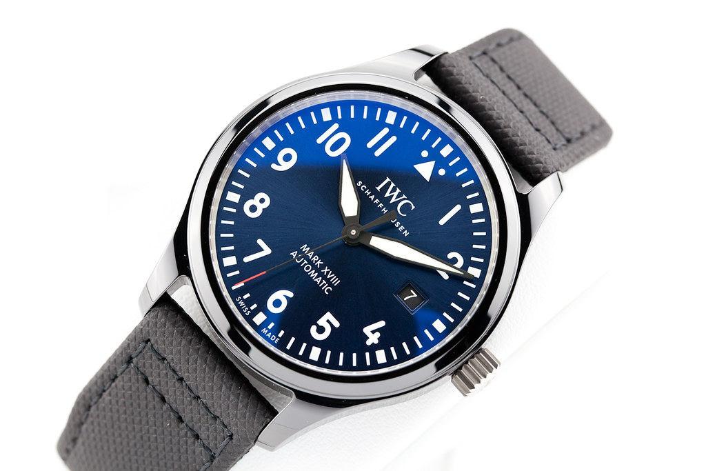 save off f0826 ccc86 fsot - IWC Pilot Mark XVIII - Ceramic - LAUREUS SPORT ...