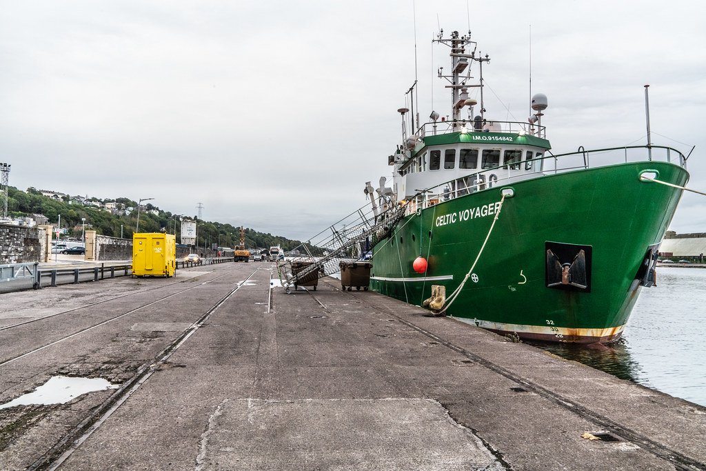 THE CELTIC VOYAGER - HORGAN'S QUAY IN CORK CITY [A RESEARCH AND SURVEY VESSEL] 002