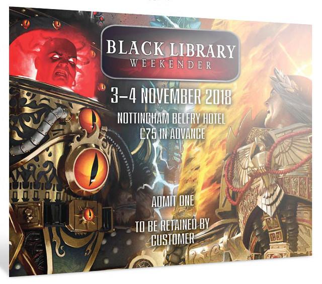 Black Library Weekender 2018