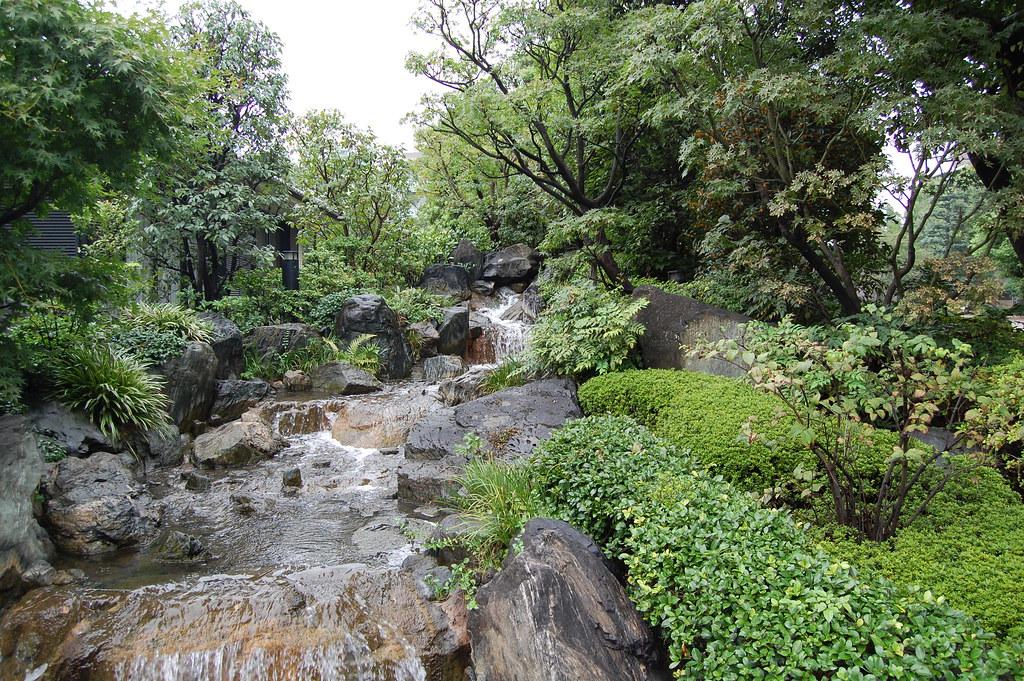 Cascada en el parque Ueno