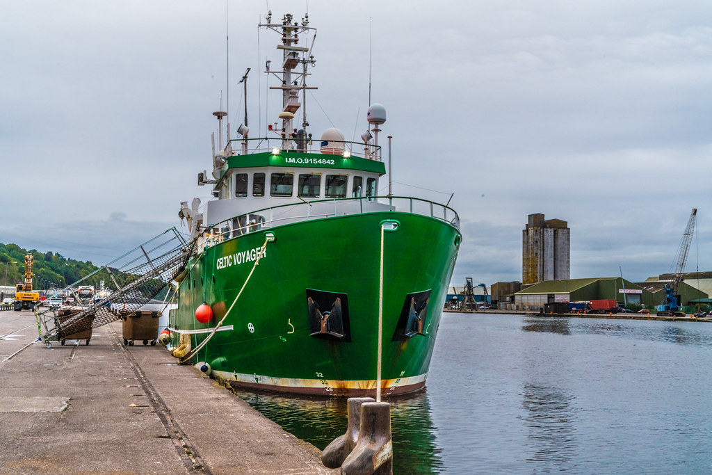 THE CELTIC VOYAGER - HORGAN'S QUAY IN CORK CITY [A RESEARCH AND SURVEY VESSEL] 005