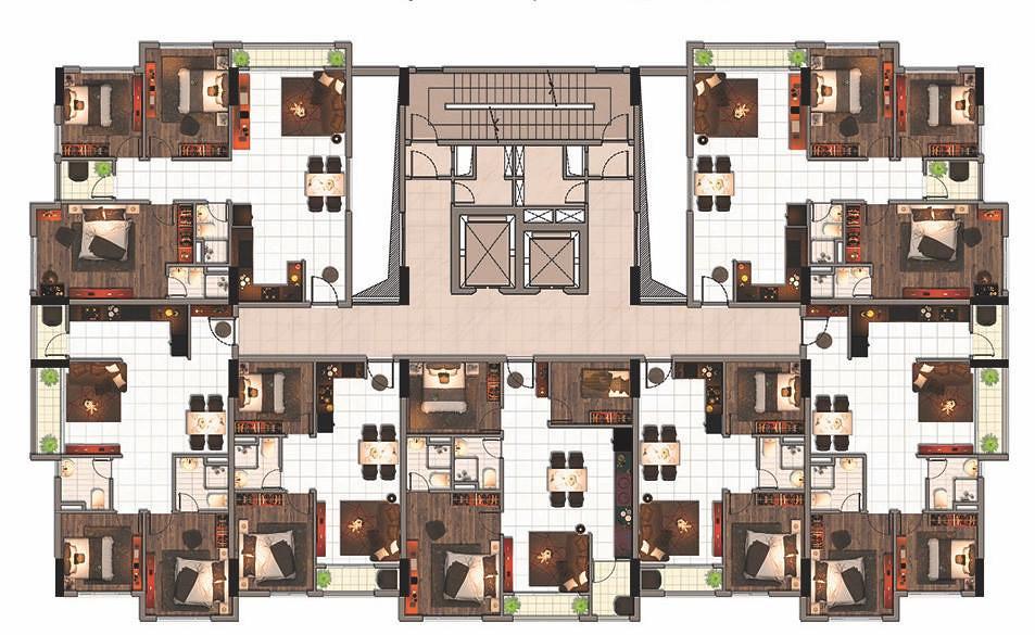 Thiết kế và mặt bằng căn hộ Raemian Đông Thuận Quận 12 3