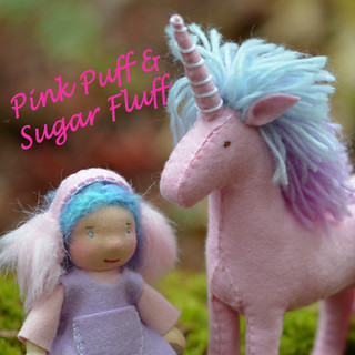 Pink Puff and Sugar Fluff