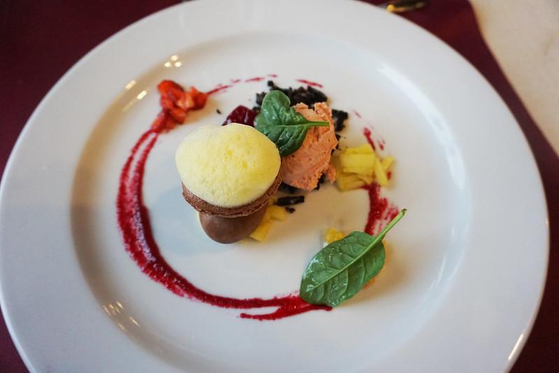 dessert in Brasov, Romania