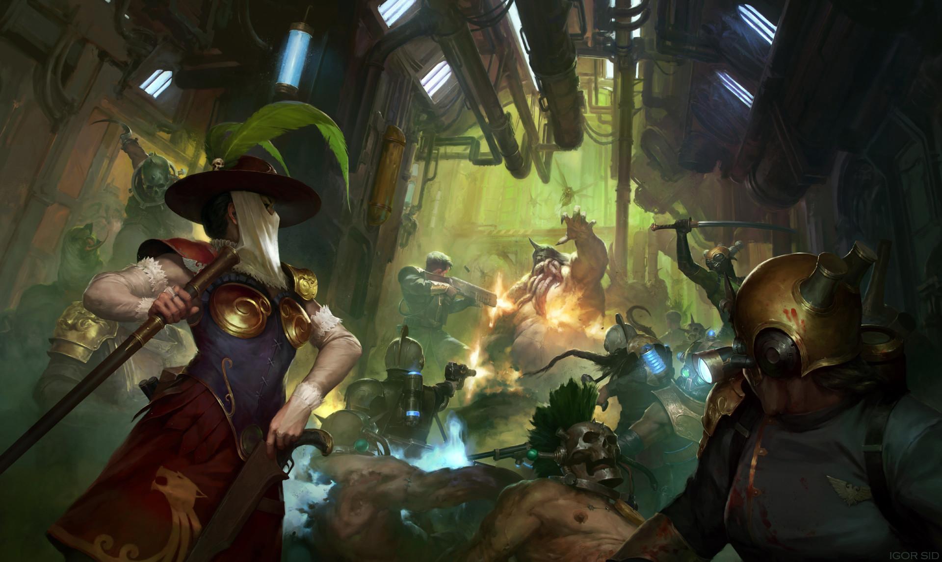 «Вольный торговец» | Rogue Trader, иллюстрация