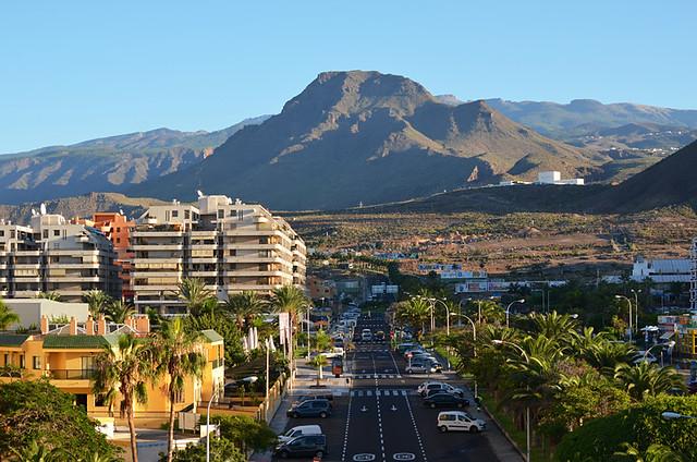 Backdrop, Los Cristianos, Tenerife