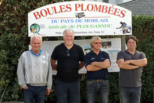 08/09/2018 - Primel Trégastel (Plougasnou) : Concours de boules plombées en doublette formée