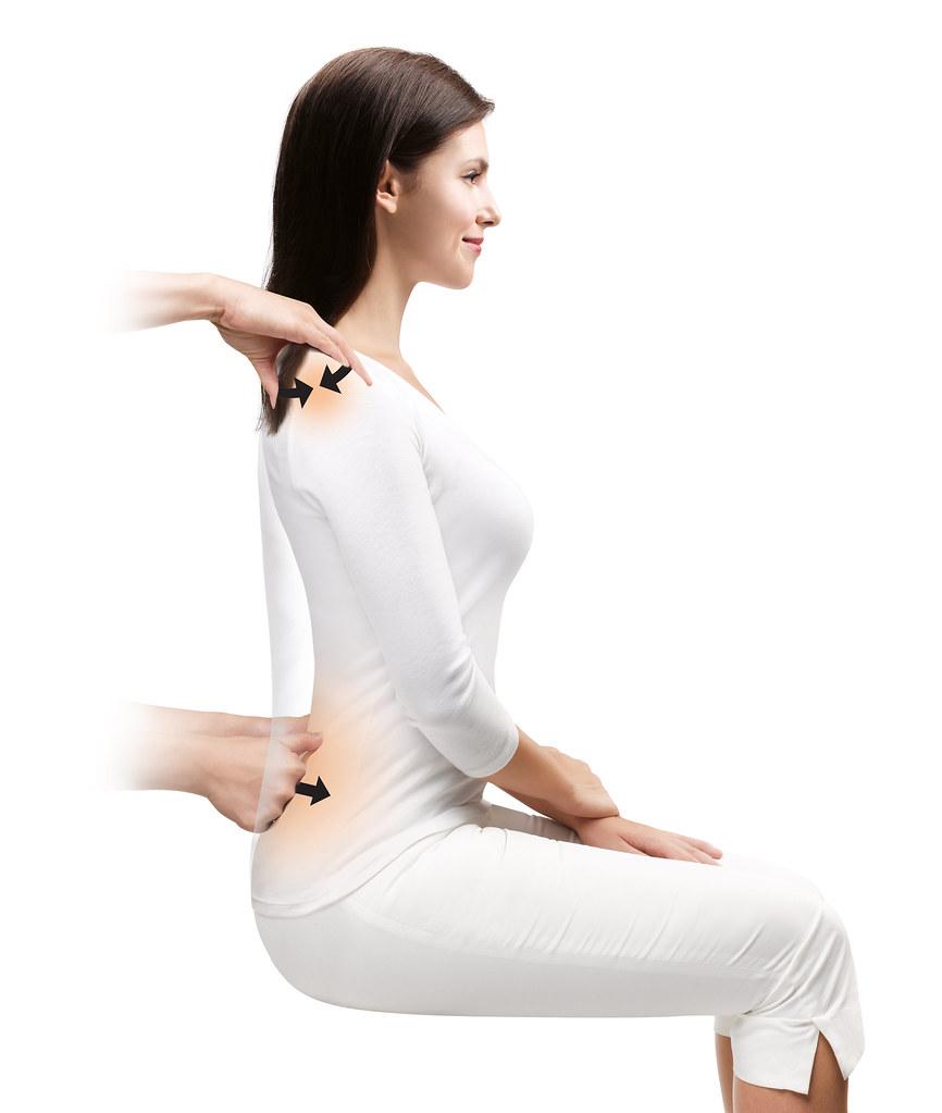 The OSIM uLove 2 emulates a four-hand massage by real human hands. (Credit: OSIM)