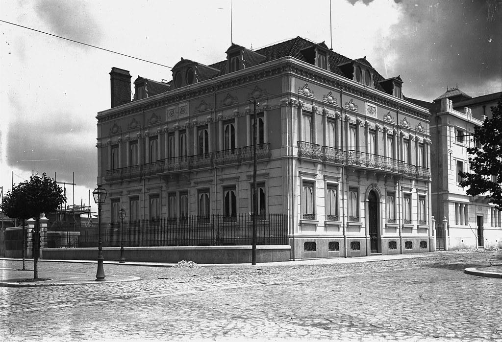 Av. da República, 18, Lisboa (P. Guedes, c. 1900)