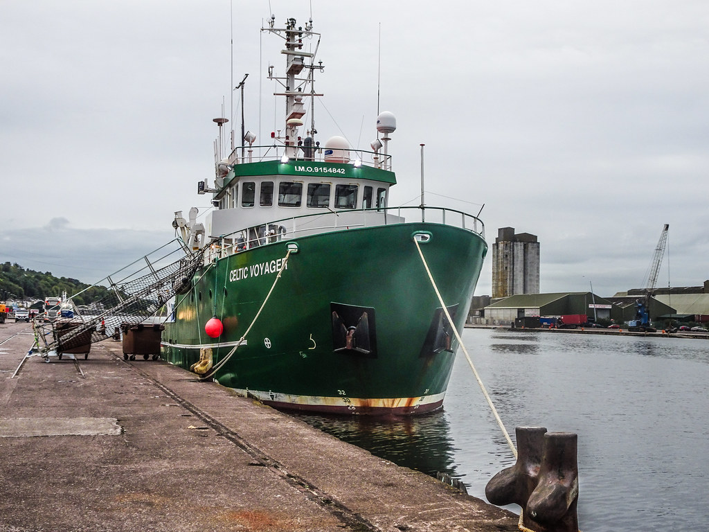 THE CELTIC VOYAGER - HORGAN'S QUAY IN CORK CITY [A RESEARCH AND SURVEY VESSEL] 003