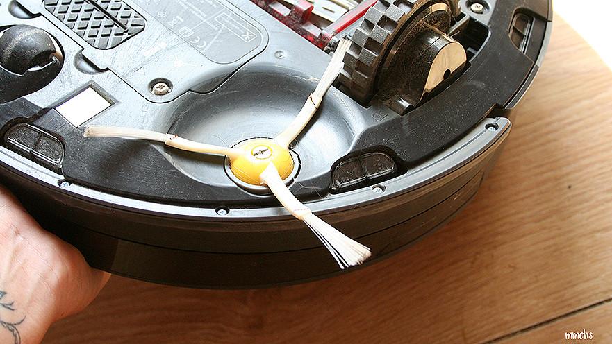 cepillo de limpieza del robot Roomba 980