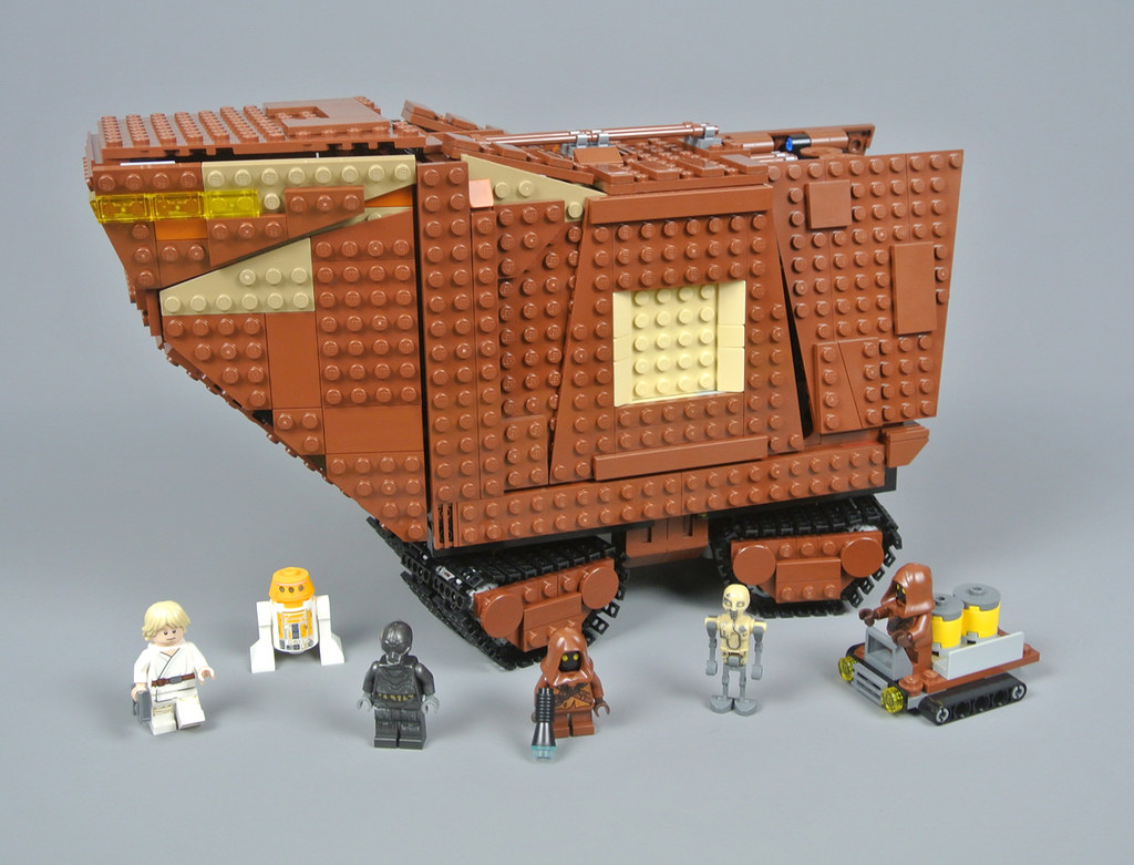 LEGO Star Wars 75220 Sandcrawler review | Brickset: LEGO set guide