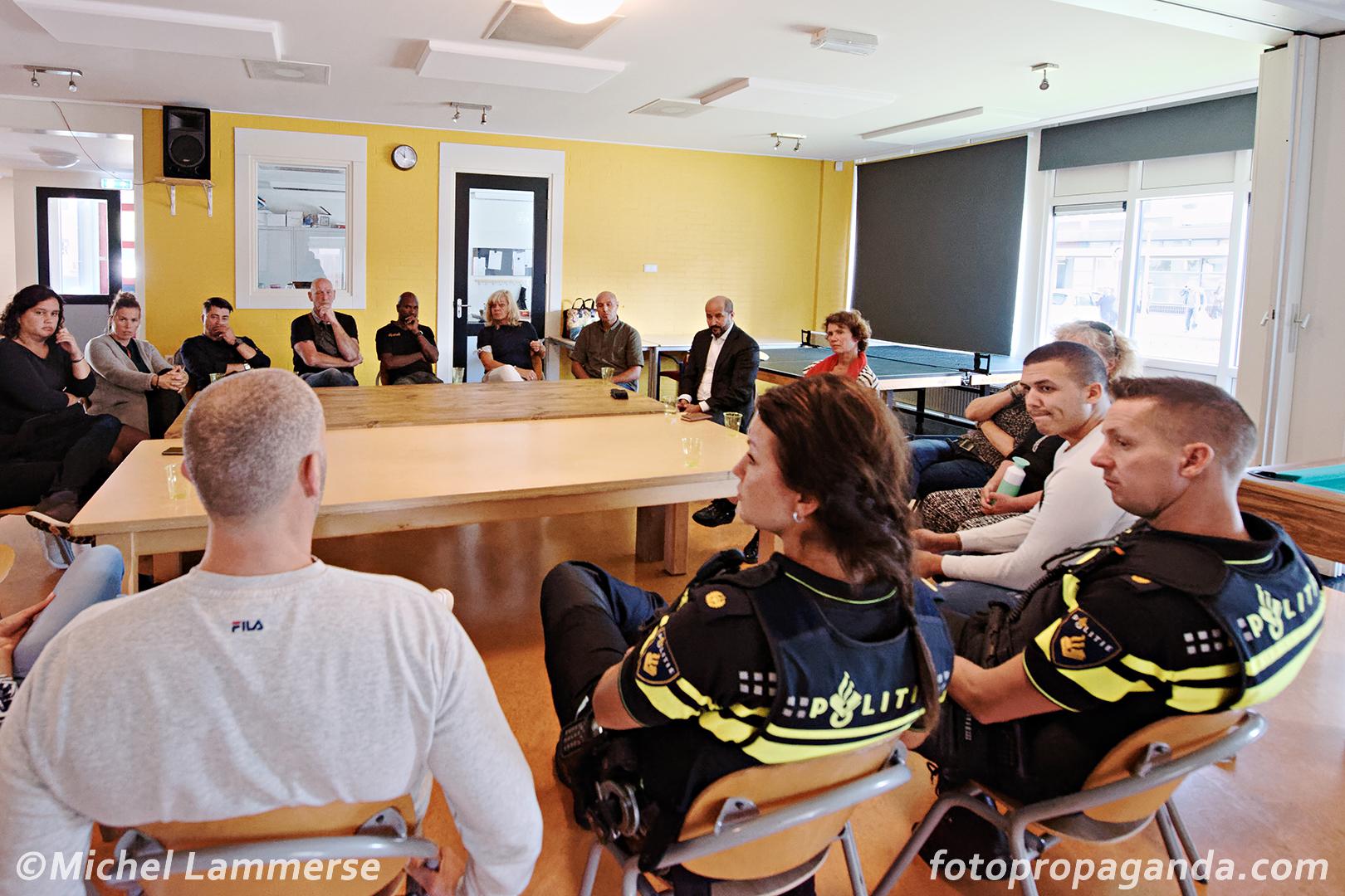 werkbezoek burgemeester Marcouch foto 1