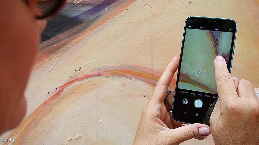 Foto con el Xiaomi A2 Lite de Gearbest