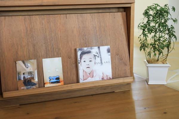 本棚に飾れるアルバム