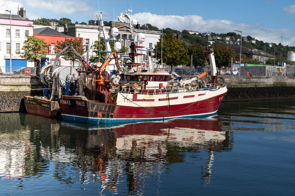 TWO TRAWLERS DOCKED AT PENROSE QUAY IN CORK 002