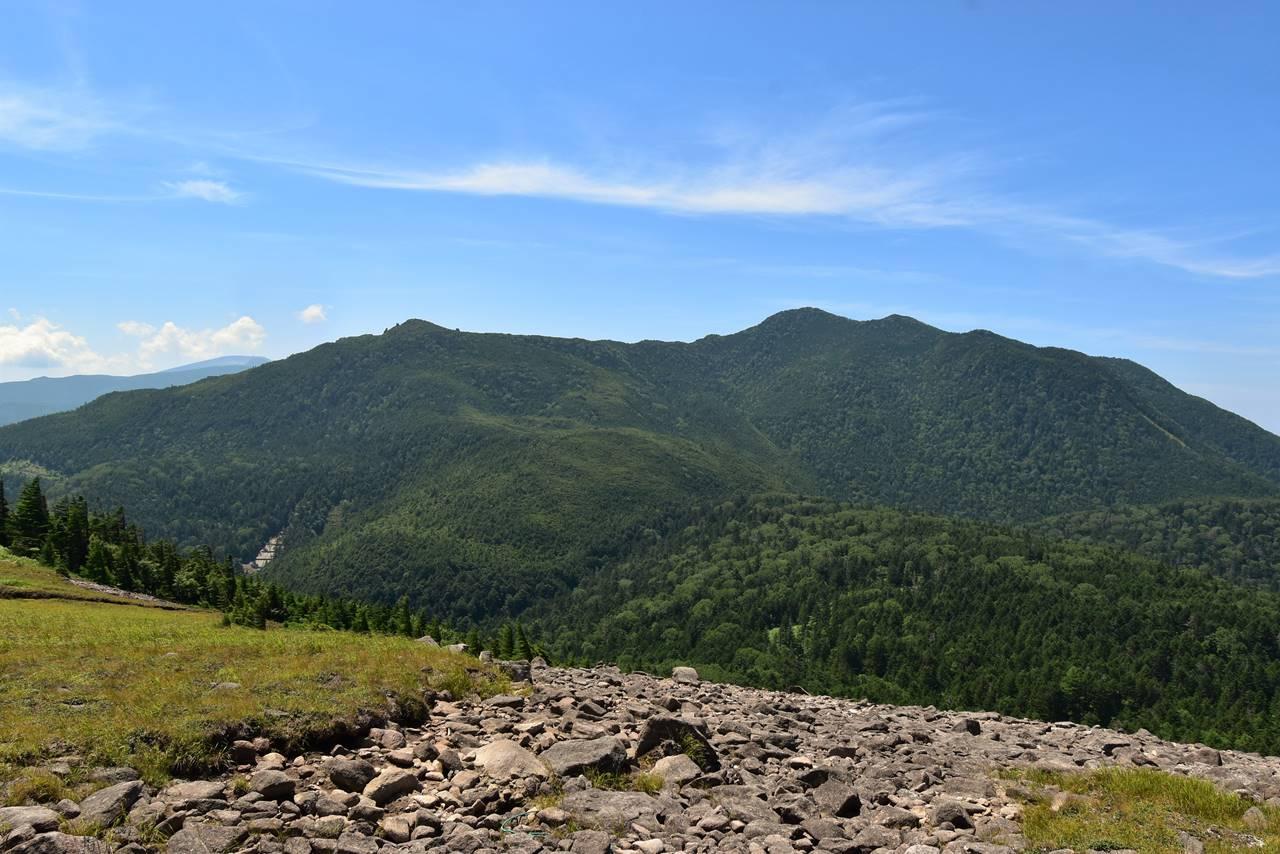 双子山からの北横岳