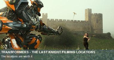 Dónde se rodó Transformers El último caballero