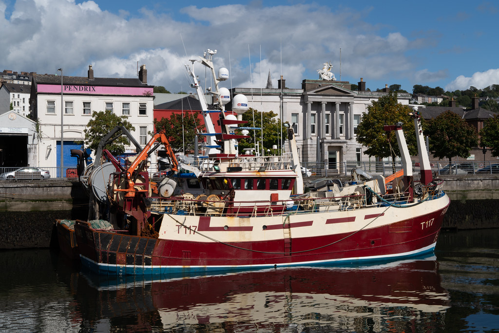 TWO TRAWLERS DOCKED AT PENROSE QUAY IN CORK 003