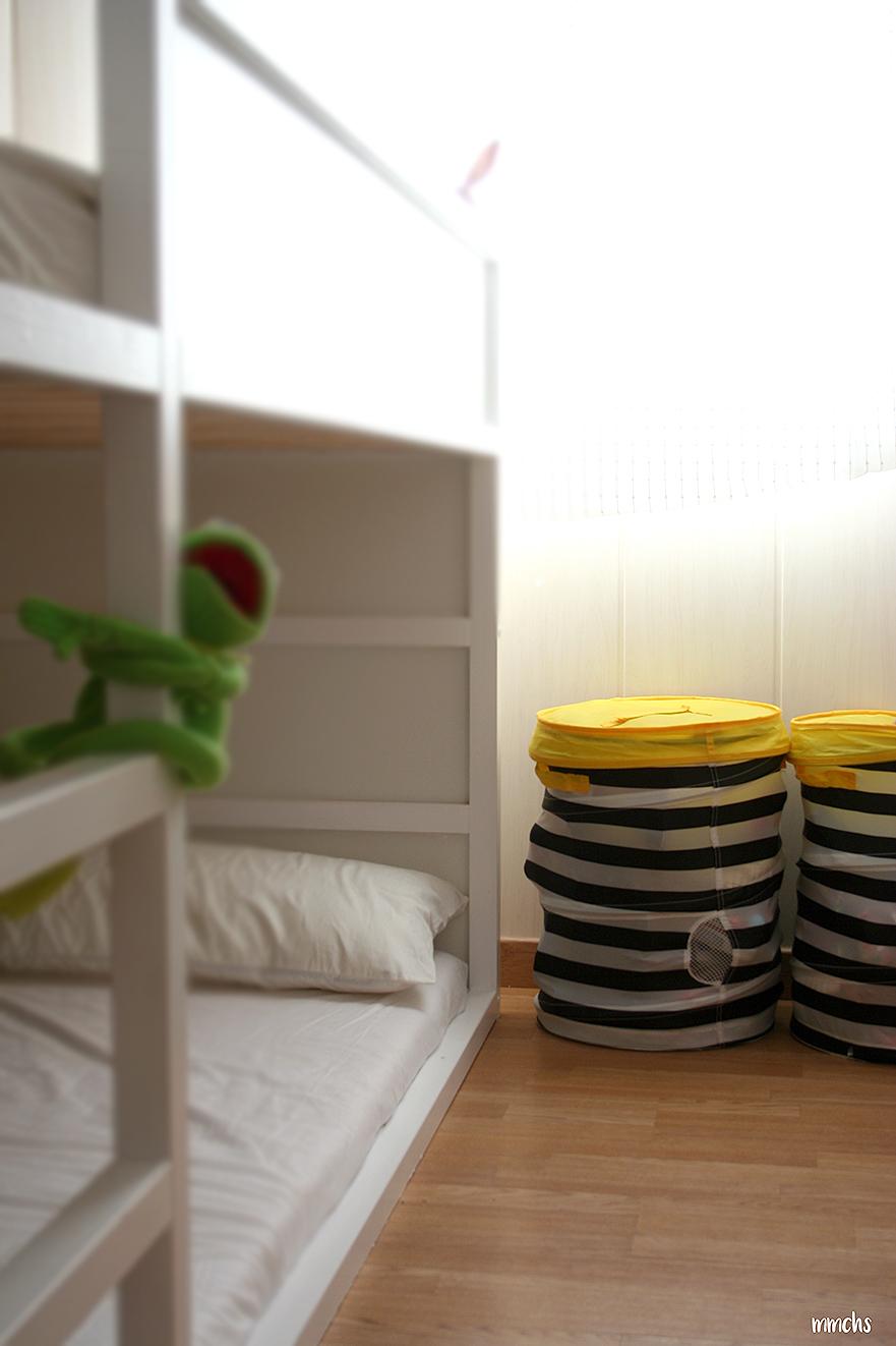 cama para niño estilo Montessori