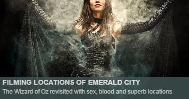 Where is emerald city filmed