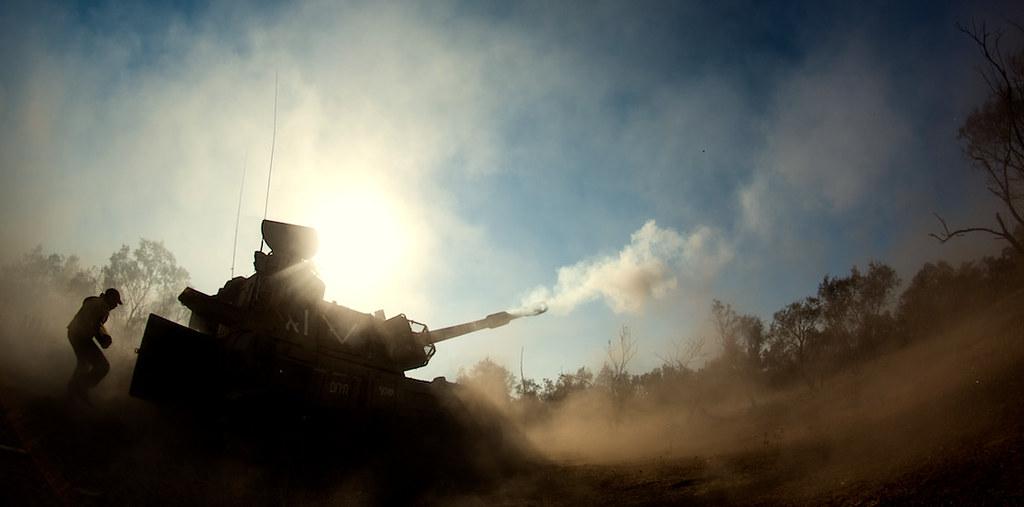 Армия обороны Израиля.