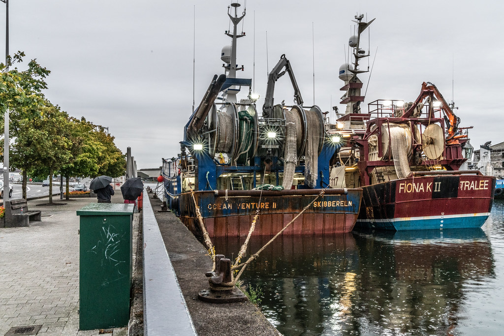 TWO TRAWLERS DOCKED AT PENROSE QUAY IN CORK 007