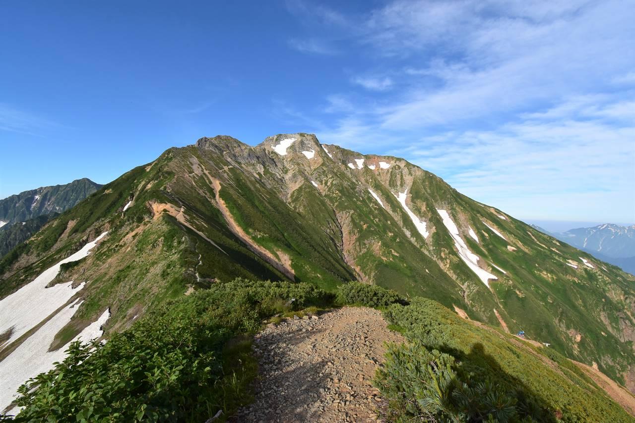 北アルプス・五竜岳