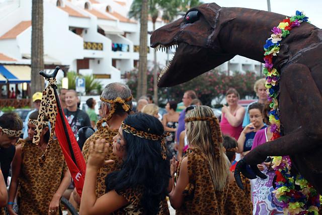 Carnival parade, Las Americas, Tenerife
