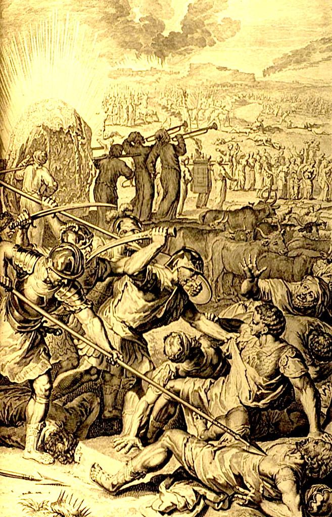 Божий суд над Мадианитянами.
