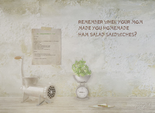 Image about creating a Ham Salad Sandwich