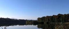 Early autumn lake VII