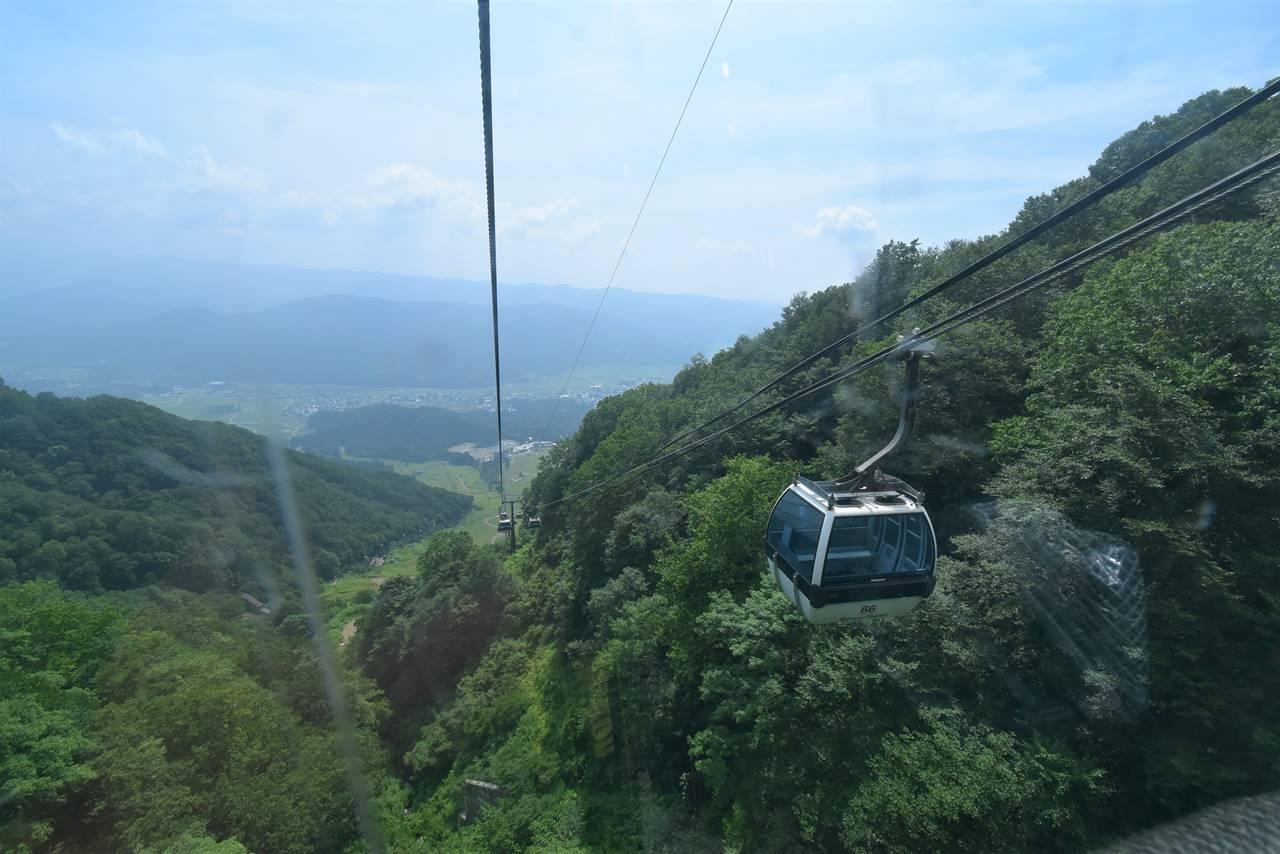 五竜岳テレキャビンゴンドラ
