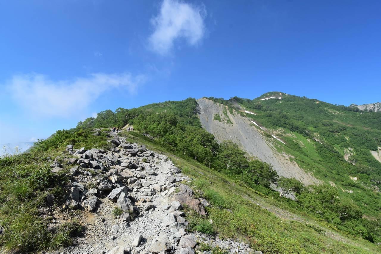 夏の八方尾根登山