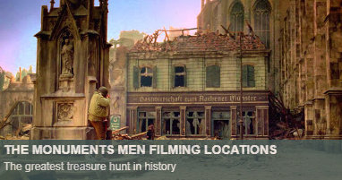 Where was Monuments Men filmed