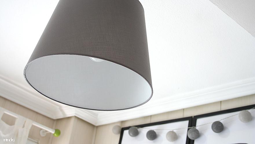 lámpara habitación infantil estilo nórdico