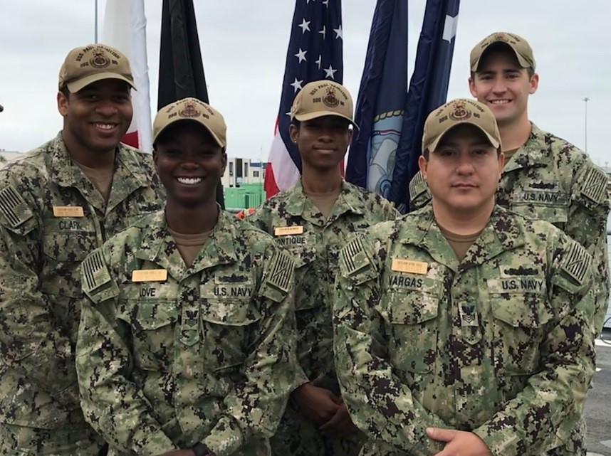 "Five ""Phantom Warriors"" from the guided-missile destroyer USS Paul Hamilton (DDG 60) were selected for advancement to the rank of chief petty officer following the most recent selection board."