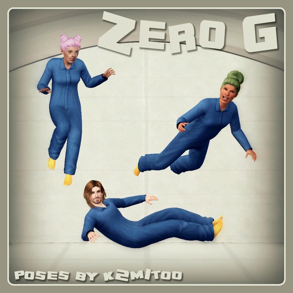 Zero G Covershot
