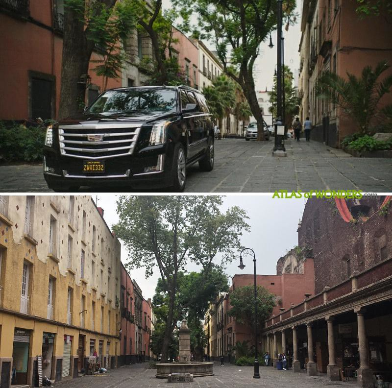 shooting locations Mexico city