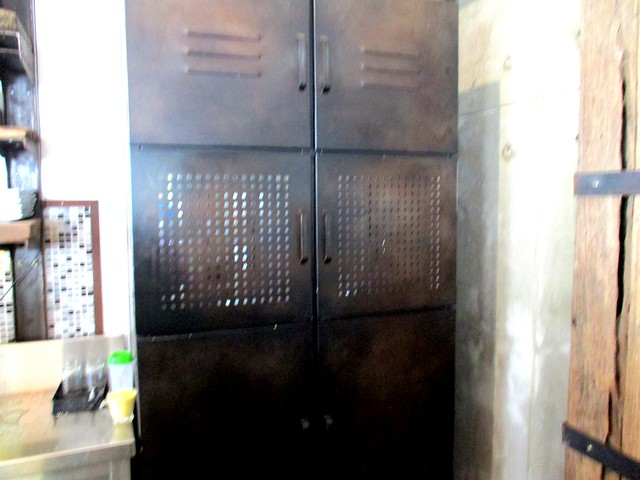 Outright Coffee metal cabinet