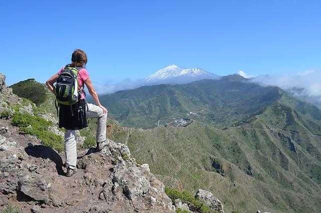 The view, El Palmar, Teno, Tenerife