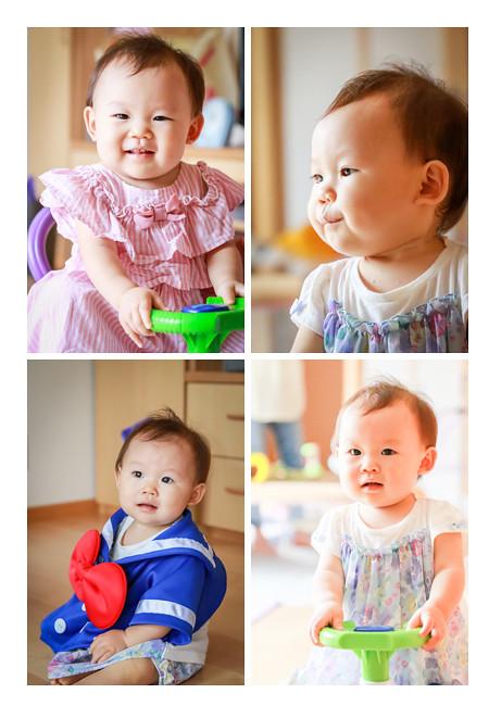 10か月の女の子赤ちゃん