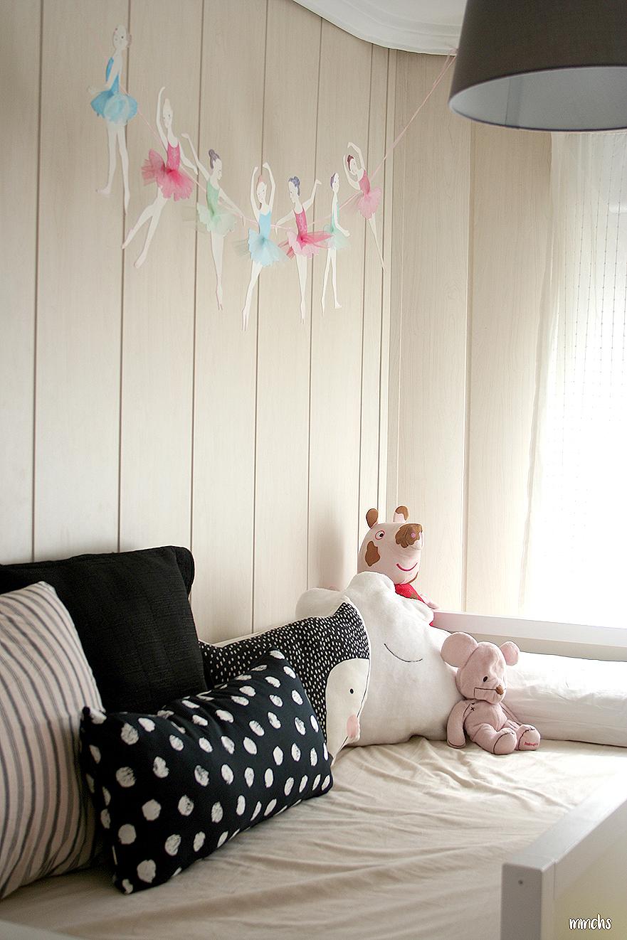 decoración textil de habitación infantil