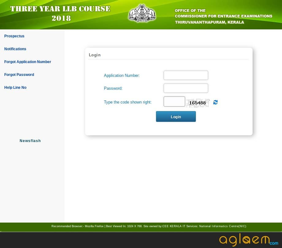 Kerala LLB 3 Year 2018 New Admit Card Available on cee-kerala.org; Exam on 08 September