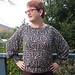 Pattern Emporium True Romance blouse in rayon spandex knit