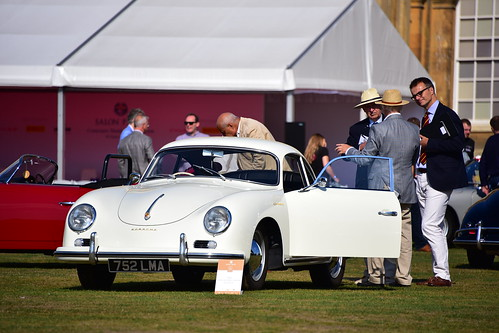 Porsche 356A Carrera GS Coupe, Salon Privé, Blenheim Palace 2018